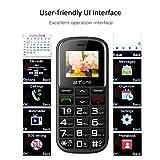 artfone Seniorenhandy ohne Vertrag   Dual SIM Handy mit Notruftaste   Rentner Handy große Tasten   2G GSM Handy   Großtastenhandy mit Ladestation und Kamera 1400 mAh Akku Lange Standby-Zeit - 5