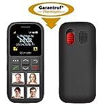 simvalley MOBILE Seniorenhandy: Senioren-Handy, Garantruf Premium, GPS-Ortung, 4 Kurzwahl-Foto-Tasten (Seniorenhandy mit Fototasten) - 2