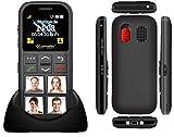 simvalley MOBILE Seniorenhandy: Senioren-Handy, Garantruf Premium, GPS-Ortung, 4 Kurzwahl-Foto-Tasten (Seniorenhandy mit Fototasten) - 6