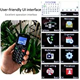 Artfone CS181 Seniorenhandy ohne Vertrag | Mobiltelefon mit großen Tasten | Dual SIM Handy mit Notruftaste | Rentner Handy gro?e Tasten | GSM Handy | Inklusive Ladegerät - 4