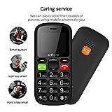 Artfone CS181 Seniorenhandy ohne Vertrag | Mobiltelefon mit großen Tasten | Dual SIM Handy mit Notruftaste | Rentner Handy gro?e Tasten | GSM Handy | Inklusive Ladegerät - 5