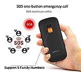 Artfone CS181 Seniorenhandy ohne Vertrag | Mobiltelefon mit großen Tasten | Dual SIM Handy mit Notruftaste | Rentner Handy gro?e Tasten | GSM Handy | Inklusive Ladegerät - 7