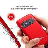 artfone C10 Seniorenhandy ohne Vertrag | Dual SIM | Dual Display Handy mit Notruftaste | Rentner Handy große Tasten | 2G GSM Klapphandy | Großtastenhandy mit Ladegerät und Kamera-Zeit - 3