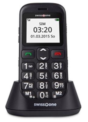 Swisstone BBM 320c - GSM-Mobiltelefon mit großem beleuchtetem Farbdisplay - 1