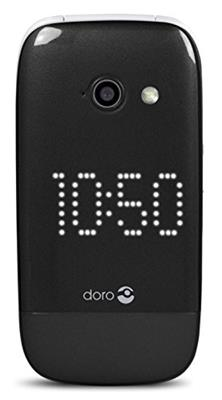 Doro PhoneEasy 632 elegantes Klappdesign Großtastenhandy (2 Megapixel Kamera, 3G, GPS, Bluetooth) schwarz - 1