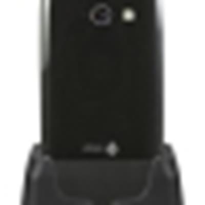 Doro PhoneEasy 632 – Klapphandy mit Kamera, Bluetooth (schwarz)