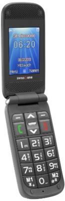 Swisstone BBM 620 Großtastenhandy (Farbdisplay, 0,3 MP Kamera) inkl. Tischladestation - 1